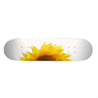 yellow sunflower 21.3 cm mini skateboard deck