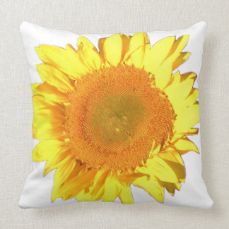 Yellow Sunflower accented with White Cushion