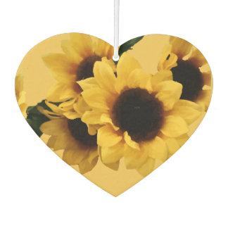 Yellow Sunflower Air Freshener