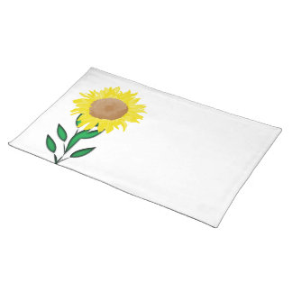 Yellow Sunflower Placemats