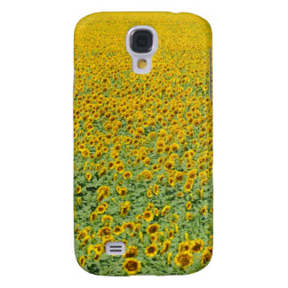 Yellow Sunflower Field Galaxy S4 Case