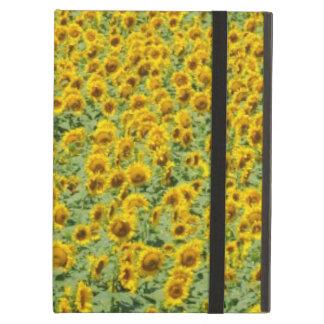 Yellow Sunflower Field iPad Air Covers