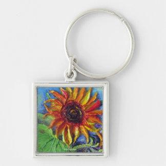 Yellow Sunflower Key Chains