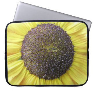 Yellow Sunflower Laptop Bag