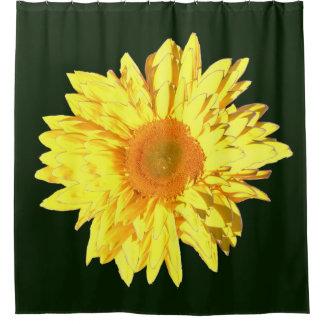 Yellow Sunflower Layer III Shower Curtain