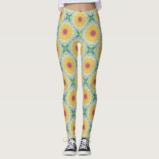 Yellow Sunflower Leggings