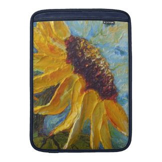 Yellow Sunflower MacBook Sleeve