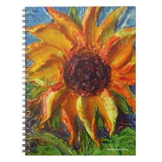 Yellow Sunflower Notebook