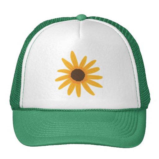 Yellow Sunflower Painting Tats Hats