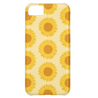 Yellow Sunflower Pattern. iPhone 5C Case