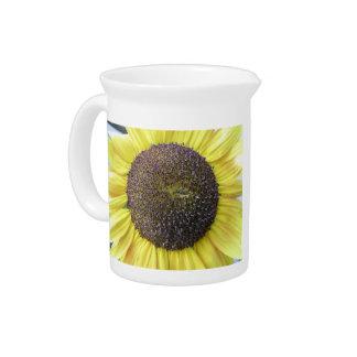 Yellow Sunflower Pitcher