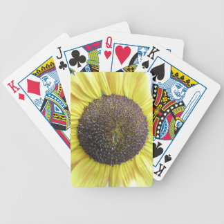Yellow Sunflower Playing Cards