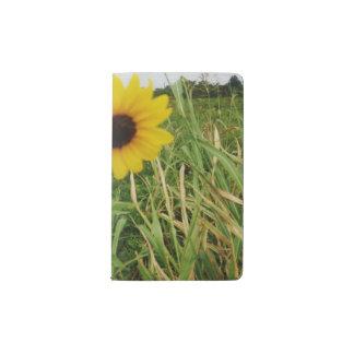 Yellow Sunflower Pocket Notebook