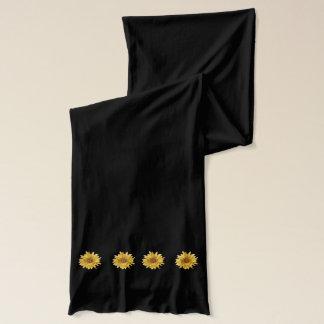 Yellow sunflower, summer scarf wraps