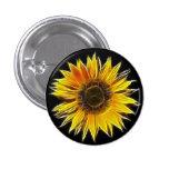 Yellow Sunflower Sun Flower Plant Pin