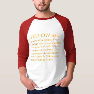 YELLOW Sunflower Thoughts T-Shirt