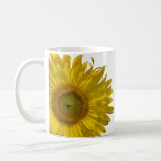 Yellow Sunflower Wedding Coffee Mug
