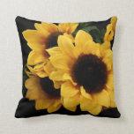 Yellow Sunflowers Decor Pillow