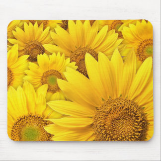Yellow Sunflowers Mouse Mat
