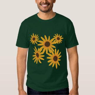 Yellow Sunflowers Painting Tshirts