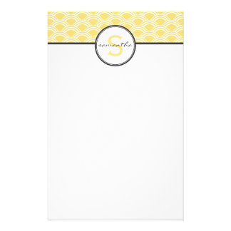 Yellow Sunrise Stationery
