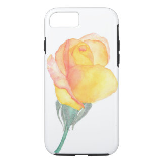 Yellow Sunset Rose Phone Cover