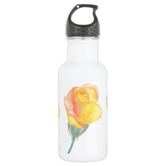 Yellow Sunset Rose Water bottle