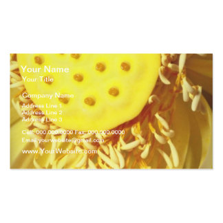 yellow Sunshine flowers Pack Of Standard Business Cards