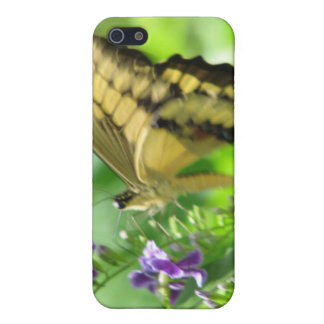 Yellow Swallowtail Butterfly iPhone 4 Case