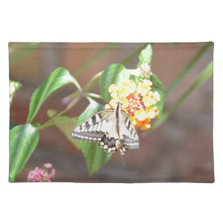 Yellow Swallowtail Butterfly Placemats