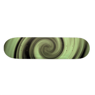 Yellow Swirl 21.6 Cm Skateboard Deck