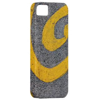 Yellow Swirl Graffiti iPhone 5 Case
