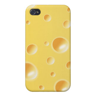 Yellow Swiss Cheese Texture iPhone 4/4S Cover