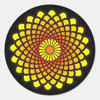 Yellow Symmetry Stickers