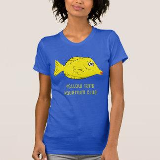 Yellow Tang Aquarium Club Tshirts
