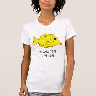 Yellow Tang Scuba Diver Tropical Fish T Shirts