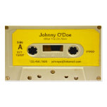 Yellow Tape Double-Sided Standard Business Cards (Pack Of 100)
