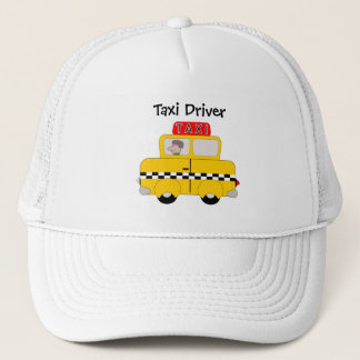 Yellow Taxi Customized Trucker Hat