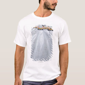 Yellow Taxis in Blizzard T-Shirt