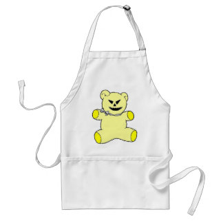 Yellow Teddy Aprons