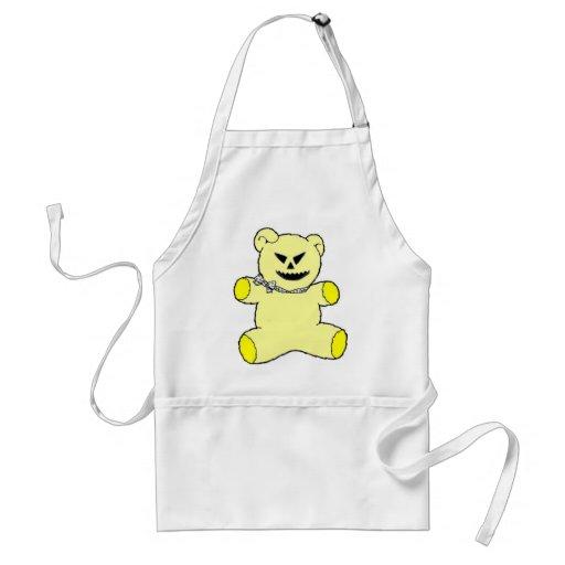 Yellow Teddy Aprons