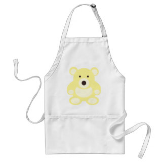 Yellow Teddy Bear Standard Apron