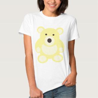 Yellow Teddy Bear Tee Shirts