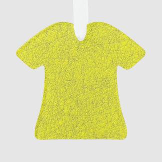 yellow texture ornament