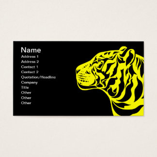 Yellow Tiger Business Card