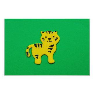 Yellow tiger photo