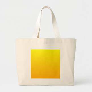 Yellow to Chrome Yellow Horizontal Gradient Tote Bags