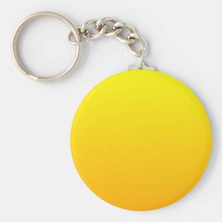 Yellow to Chrome Yellow Horizontal Gradient Key Chain