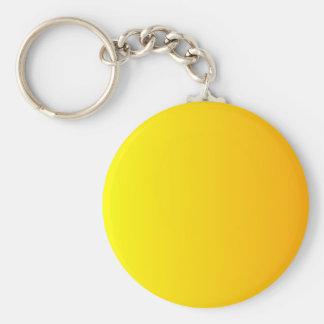 Yellow to Chrome Yellow Vertical Gradient Key Chain