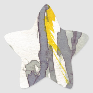 Yellow to Grey Stickers